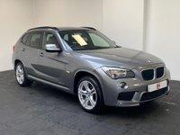 USED 2011 61 BMW X1 2.0 XDRIVE20D M SPORT 5d 174 BHP MASSIVE SPEC + SAT NAV + NEVADA LEATHER + BLUETOOTH + USB