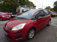 USED 2007 57 CITROEN C4 PICASSO 2.0 EXCLUSIVE HDI 5STR EGS 5d 135 BHP