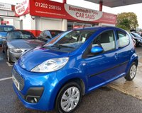 USED 2013 13 PEUGEOT 107 1.0 ACTIVE ONLY 22,000 MILES WITH F.S.H