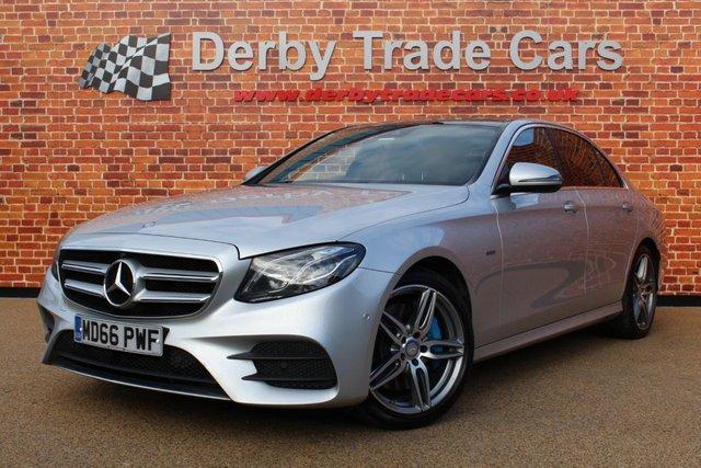 MERCEDES-BENZ E CLASS at Derby Trade Cars