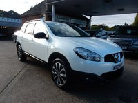 USED 2013 13 NISSAN QASHQAI+2 1.5 DCI 360 PLUS 2 5d 110 BHP SAT NAV,360 CAMERA,GLASS ROOF,TWO KEYS,SERVICE HISTORY