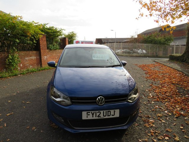 USED 2012 12 VOLKSWAGEN POLO 1.6 SEL TDI 5d 89 BHP A GREAT ECONOMICAL VEHICLE