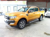 USED 2016 16 FORD RANGER 3.2 WILDTRAK 4X4 DCB TDCI 4d AUTO 197 BHP - AA DEALER PROMISE - TRADING STANDARDS APPROVED -