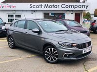 2017 FIAT TIPO 1.4 Lounge £6999.00