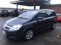 USED 2010 60 VAUXHALL ZAFIRA 1.9 ELITE CDTI 5d 120 BHP 7 SEATER, SEATS, FULL LEATHER