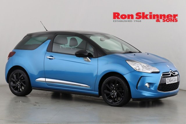 View our 2014 64 CITROEN DS3 1.6 E-HDI DSTYLE PLUS 3d 90 BHP