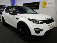USED 2016 66 LAND ROVER DISCOVERY SPORT 2.0 TD4 HSE BLACK 5d AUTO 180 BHP 7 SEATS
