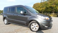 USED 2015 15 FORD GRAND TOURNEO CONNECT 1.6 TITANIUM TDCI 5d 114 BHP CLIMATE CONTROL, ALLOY WHEELS, CD-PLAYER, DAB RADIO, REMOTE LOCKING, ELECTRIC WINDOWS, HEATED SCREEN, ELECTRIC FOLDING MIRRORS, AIR-CONDITIONING, 2 X KEYS, 7 SEATER, SLIDING REAR DOORS, GLASS ROOF, PRIVACY GLASS, PARKING SENSORS, METALLIC PAINT, FINANCE AVAILABLE