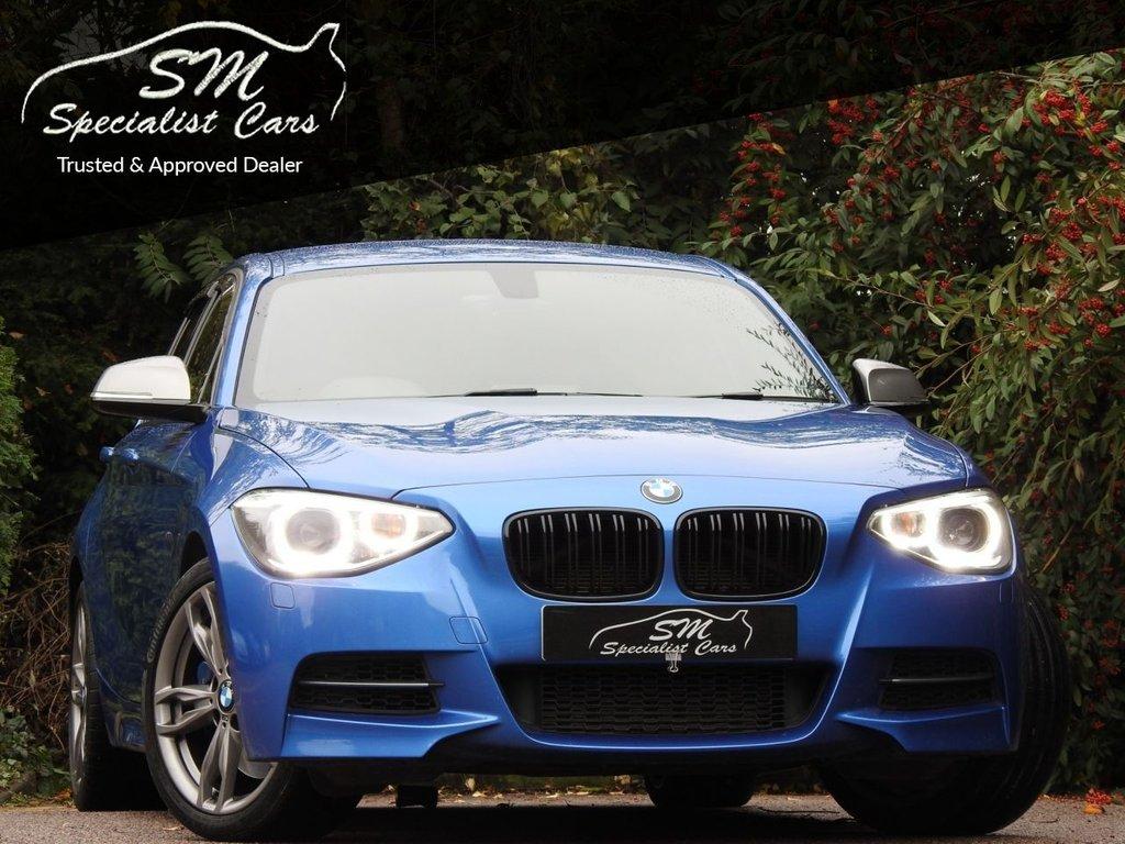 USED 2014 64 BMW 1 SERIES 3.0 M135I 5d AUTO 316 BHP HUGE SPEC SPORTS EXHAUST S/NAV