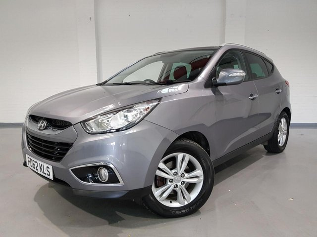 USED 2012 62 HYUNDAI IX35 1.7 PREMIUM CRDI 5d 114 BHP 3 MONTH AA PARTS AND LABOUR WARRANTY INCLUDED