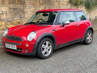 2005 MINI HATCH ONE 1.6 ONE 3d WITH PANORAMIC SUNROOF £1680.00