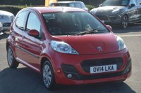 USED 2014 14 PEUGEOT 107 1.0 12v Active 5dr AIR CON*5 DOOR*£0 ROAD TAX