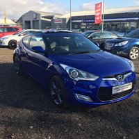 USED 2012 12 HYUNDAI VELOSTER 1.6 Sport (Media Pack) 4dr FSH+DRIVE AWAY TODAY+STUNNING!