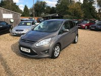 USED 2013 13 FORD C-MAX 1.6 Zetec 5dr Superb Example Throughout