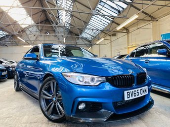 2015 BMW 4 SERIES 3.0 435d M Sport xDrive 2dr £21491.00
