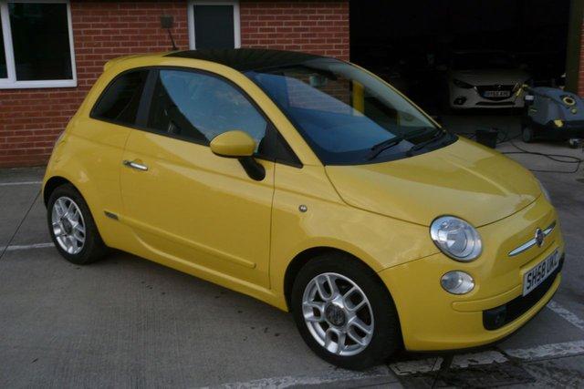 2009 58 FIAT 500 1.2 SPORT 3d 69 BHP