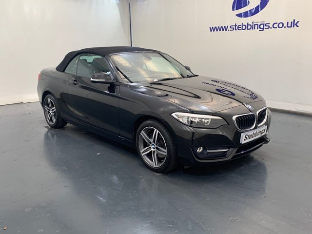 2016 66 BMW 2 SERIES 2.0 220I SPORT 2d 181 BHP CONVERTIBLE