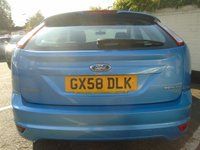 USED 2008 58 FORD FOCUS 1.6 ZETEC 5d 100 BHP GUARANTEED TO BEAT ANY 'WE BUY ANY CAR' VALUATION ON YOUR PART EXCHANGE