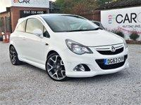 2013 VAUXHALL CORSA 1.6 VXR 3d 189 BHP £6995.00