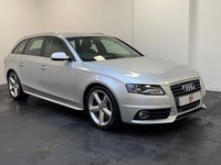 USED 2009 59 AUDI A4 AVANT 2.0 TDI S LINE DPF 5d 168 BHP PANORAMIC GLASS ROOF + SERVICE HISTORY + HALF LEATHER