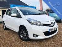 2014 TOYOTA YARIS 1.3 VVT-I ICON PLUS 5d 99 BHP £5995.00