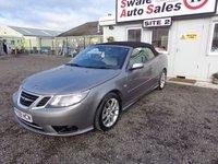 USED 2009 09 SAAB 9-3 1.8 VECTOR T 2d 150 BHP £27 PER WEEK, NO DEPOSIT - SEE FINANCE LINK