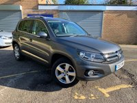 USED 2013 13 VOLKSWAGEN TIGUAN 2.0 ESCAPE TDI BLUEMOTION TECHNOLOGY 4MOTION 5d MAIN DEALER HISTORY ONLY 55,000 MILES, 6 SERVICES ALL WITH VW DEALER,