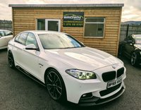2013 BMW 5 SERIES 2.0 520D M SPORT 4d AUTO 181 BHP £13750.00