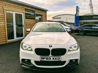 USED 2013 63 BMW 5 SERIES 2.0 520D M SPORT 4d AUTO 181 BHP ****FINANCE AVAILABLE****