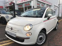2012 FIAT 500 1.2 Lounge (s/s) 3dr £3690.00