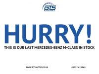 USED 2010 59 MERCEDES-BENZ M-CLASS ML300 CDI BLUEEFFICIENCY SPORT AUTO 188 BHP