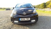 USED 2014 14 TOYOTA AYGO 1.0 VVT-I MOVE WITH STYLE 5d 68 BHP ALLOYS, AIR-CONDITIONING, CD-PLAYER, REMOTE LOCKING, ELECTRIC WINDOWS, LOW TAX BAND, SUPERB MPG, LOW INSURANCE, IDEA 1ST CAR, NATION WIDE DELIVERY,