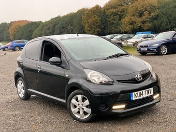 2014 TOYOTA AYGO 1.0 VVT-I MOVE WITH STYLE 5d 68 BHP £4250.00