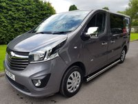USED 2015 15 VAUXHALL VIVARO 1.6 2700 L1H1 CDTI P/V SPORTIVE CAMPERVAN 118 BHP Brand new Camper Conversion. Great Spec and a High End Finish!!!
