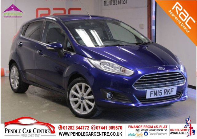 USED 2015 15 FORD FIESTA 1.5 TITANIUM TDCI 5d 74 BHP RAC Approved I Finance From 4% Flat I RAC Platinum Warranty Included