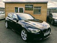 2014 BMW 1 SERIES 2.0 116D M SPORT 5d 114 BHP £9750.00