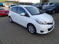 2012 TOYOTA YARIS 1.3 VVT-I TR 5d 98 BHP £5295.00
