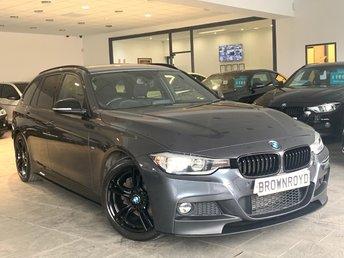 2015 BMW 3 SERIES  330D M SPORT TOURING 5d 255 BHP £15990.00