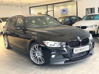 2015 BMW 3 SERIES 2.0 320D M SPORT TOURING 5d 181 BHP £14990.00