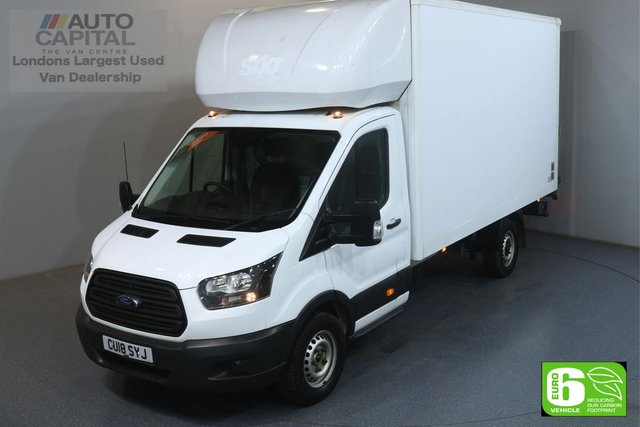 2018 18 FORD TRANSIT 2.0 350 L4 EXTRA LWB 129 BHP EURO 6 ENGINE LUTON REAR TAIL LIFT, HEATED MIRRORS