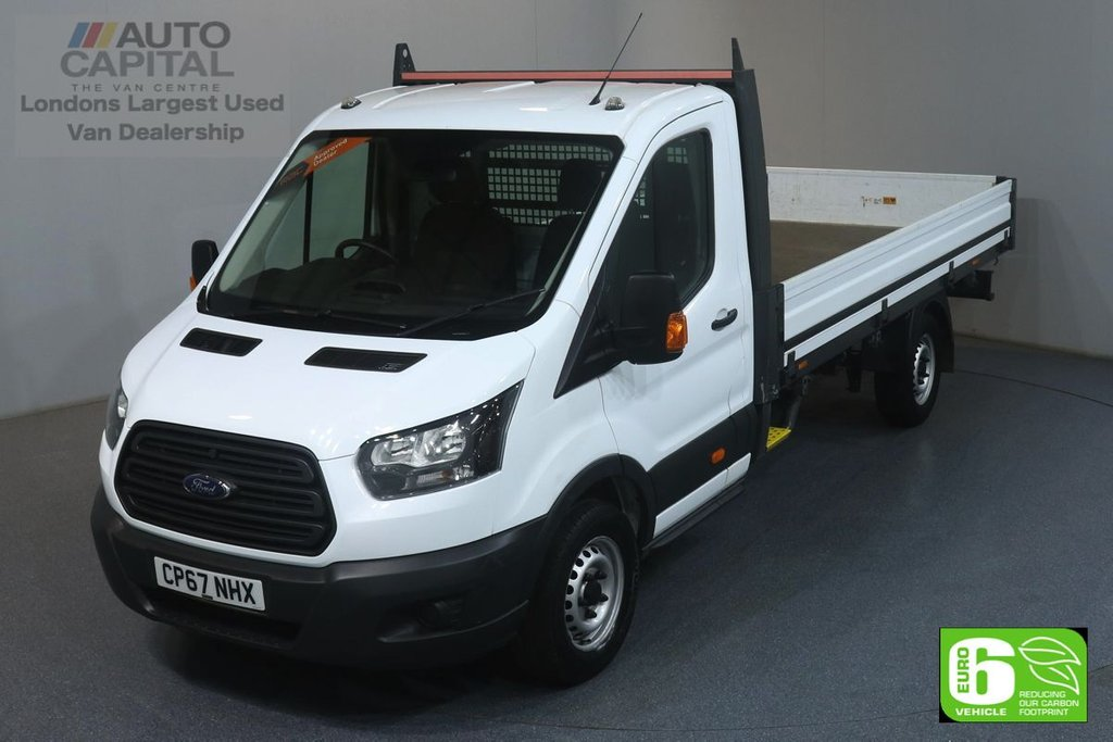 USED 2018 67 FORD TRANSIT 2.0 350 RWD L4 XLWB 129 BHP EURO 6 ENGINE ONE OWNER FROM NEW