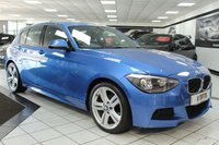USED 2014 14 BMW 1 SERIES 1.6 116I M SPORT 135 BHP FBMWSH 2 X KEYS DAB FACELIFT