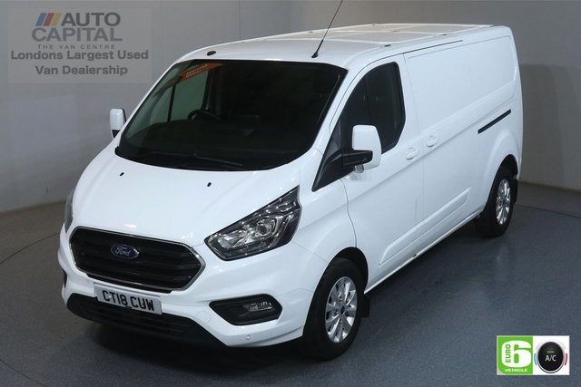 2018 18 FORD TRANSIT CUSTOM 2.0 300 LIMITED L2 H1 129 BHP EURO 6 ENGINE AIR CON, FRONT- REAR PARKING SENSORS, ALLOY WHEEL, HEATED SEATS