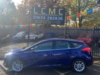 """USED 2016 16 FORD FOCUS 1.5 ZETEC TDCI 5d 118 BHP STUNNING DEEP IMPACT BLUE METALLIC PAINT WITH BLACK CLOTH UPHOLSTERY. ONE OWNER WITH FULL SERVICE HISTORY. SYNC 2 8"""" COLOUR TOUCH SCREEN. ALLOY WHEELS. AIR CONDITIONING. BLUETOOTH. DAB RADIO. USB/AUX POINTS. ELECTRIC WINDOWS. REMOTE CENTRAL LOCKING. PLEASE GOTO www.lowcostmotorcompany.co.uk TO VIEW OVER 120 CARS IN STOCK"""