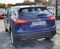 USED 2017 66 NISSAN QASHQAI 1.2 ACENTA DIG-T SMART VISION XTRONIC 5d AUTO 113 BHP