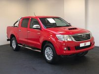 USED 2013 63 TOYOTA HI-LUX 3.0 INVINCIBLE 4X4 D-4D DCB 169 BHP 1 OWNER + ONLY 12,000 MILES + NO VAT + SERVICED 6 TIMES + IMMACULATE !!!