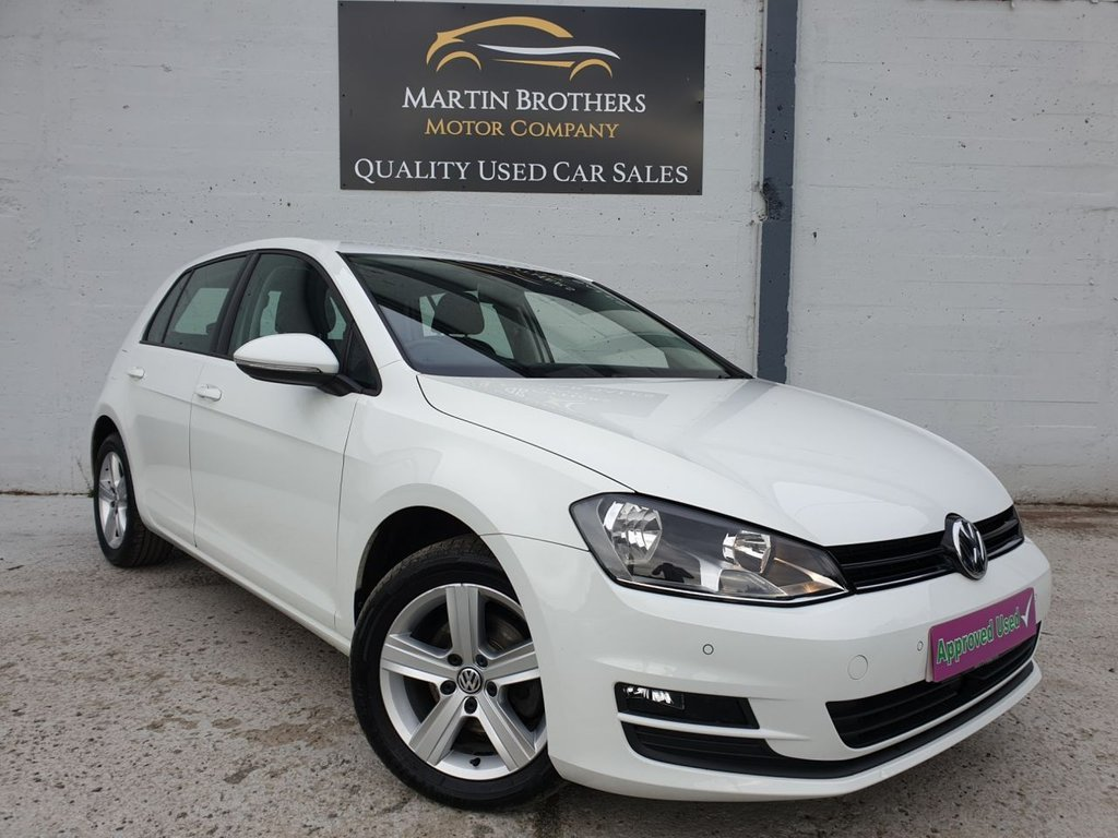 USED 2015 15 VOLKSWAGEN GOLF 1.6 MATCH TDI BLUEMOTION TECHNOLOGY DSG 5d AUTO 103 BHP