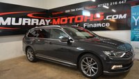 2016 VOLKSWAGEN PASSAT 2.0 R LINE TDI BLUEMOTION TECHNOLOGY 5DOOR 148 BHP *SAT NAV* £11495.00