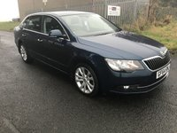 2014 SKODA SUPERB 2.0 SE TDI CR 5d 139 BHP £7495.00