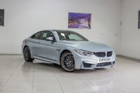 2016 BMW M4 3.0 M4 COMPETITION PACKAGE 2d AUTO 444 BHP £34991.00